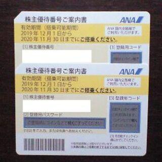 ANA株主優待券2枚【有効期間2021年5月31日】まで延長(その他)