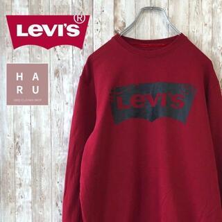 Levi's - 美品☆リーバイス ロゴトレーナー スウェット ゆるダボ ビックサイズ