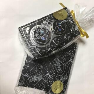 カルディ(KALDI)の新品 カルディ レフレックスカメラ缶 と カルディ エコバッグ(菓子/デザート)