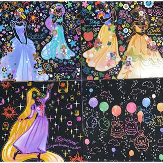 ディズニー(Disney)のディズニープリンセス スクラッチアート゚・*:.。. .。.:*・゜(アート/写真)