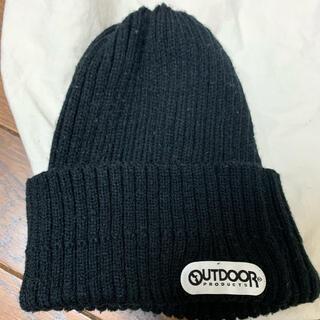 アウトドアプロダクツ(OUTDOOR PRODUCTS)のニット帽 アウトドア 黒(ニット帽/ビーニー)