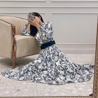 eimy istoire - 【新品】エイミーイストワール Camila flower ティアードワンピース