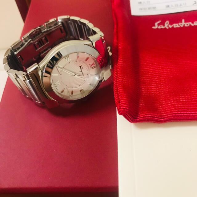 Ferragamo(フェラガモ)の美品 フェラガモ レディース 時計 レディースのファッション小物(腕時計)の商品写真