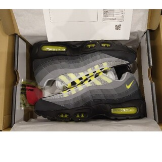 ナイキ(NIKE)の新品 NIKE AIR MAX 95 OG NEON YELLOW 27.5cm(スニーカー)