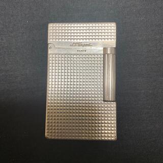 エステーデュポン(S.T. Dupont)の デュポンライター: デュポン ライン2 //ダイヤカット// #16184 (タバコグッズ)