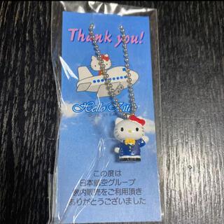 サンリオ - 【新品未使用】日本航空 ハローキティ HELLOKITTY ストラップ