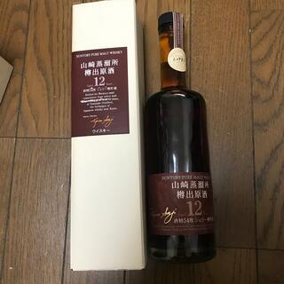 サントリー - サントリー 山崎蒸留所 樽出原酒 シェリー 12年 500ml