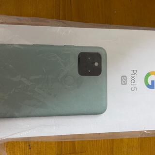 Google Pixel - 新品未使用 Google Pixel 5 128GB SIMフリー ソーダセージ