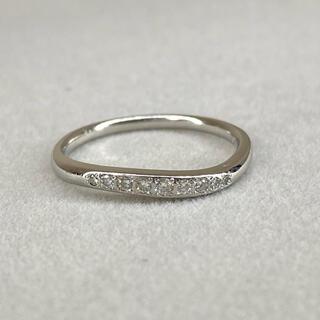 ヴァンドームアオヤマ(Vendome Aoyama)のpt950  ヴァンドーム ダイヤモンド リング プラチナ 14号(リング(指輪))