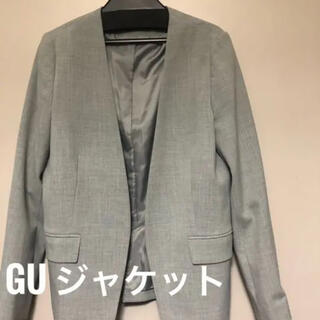ジーユー(GU)のGUノーカラージャケット(ノーカラージャケット)