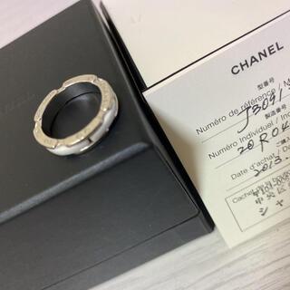 CHANEL - シャネル ウルトラ コレクション ホワイト セラミック K18 リング 指輪