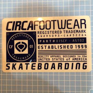 サーカ(C1RCA)のcirca サーカ ステッカー スケボー スノボー sk8(スケートボード)