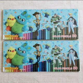 ディズニー(Disney)のDisney トイ・ストーリー 色鉛筆50色 カラーペンシル TOY STORY(色鉛筆)