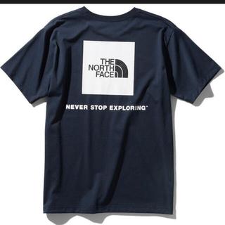 THE NORTH FACE - ショートスリーブスクエアーロゴティー ノースフェイス XL   tシャツ