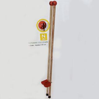 ヴィラック(vilac)のフランス木製玩具 Vilac (ヴィラック) てんとう虫の竹馬(その他)