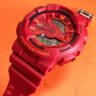 G-SHOCK - ともみ様専用 Casio カシオG-Shock 腕時計 GA-110AC レッド
