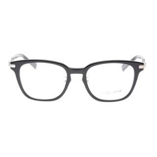 ヨウジヤマモト(Yohji Yamamoto)の【美品】ヨウジヤマモト 19-0032-01 フレーム 黒(サングラス/メガネ)