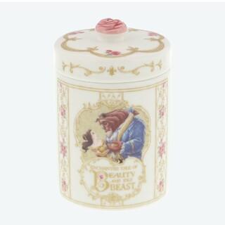 ディズニー(Disney)の美女と野獣 キャニスター(容器)