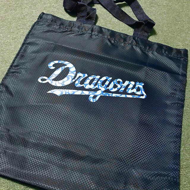 中日ドラゴンズ(チュウニチドラゴンズ)の《通販限定商品》ドラゴンズ エコバッグ スポーツ/アウトドアの野球(記念品/関連グッズ)の商品写真