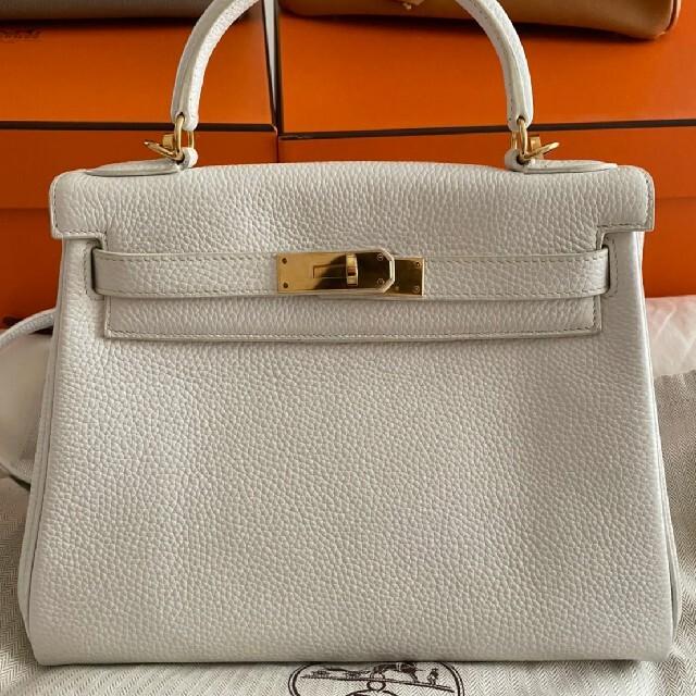 Hermes(エルメス)のエルメスケリー28ブラン レディースのバッグ(ハンドバッグ)の商品写真