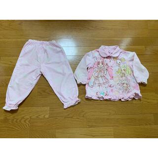BANDAI - スマイルプリキュア   光るパジャマ 100