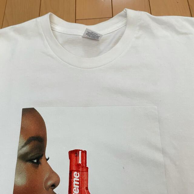 Supreme(シュプリーム)のSupreme water pistol tee White L メンズのトップス(Tシャツ/カットソー(半袖/袖なし))の商品写真