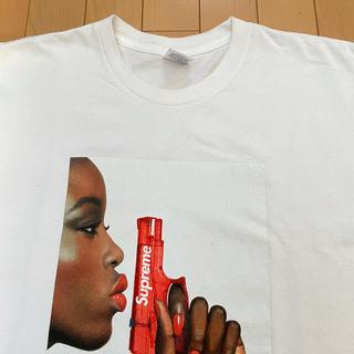 シュプリーム(Supreme)のSupreme water pistol tee White L(Tシャツ/カットソー(半袖/袖なし))