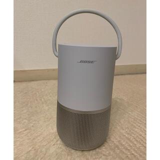 ボーズ(BOSE)のBose Portable Smart Speaker ラックスシルバー(スピーカー)