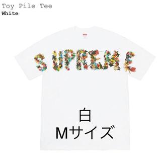 Supreme - Supreme Toy Pile Tee 白M
