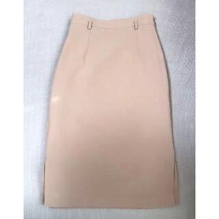 ジャスグリッティー(JUSGLITTY)のジャスグリッティー ベージュタイトスカート(ひざ丈スカート)