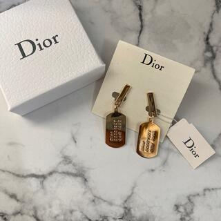 クリスチャンディオール(Christian Dior)の未使用 Dior イヤリング ゴールド(イヤリング)