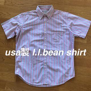 エルエルビーン(L.L.Bean)のusa製 l.l.bean エルエルビーン 半袖 シャツ ビンテージ レア(シャツ)
