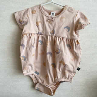 futafuta - フタフタ フタくま ロンパース 70