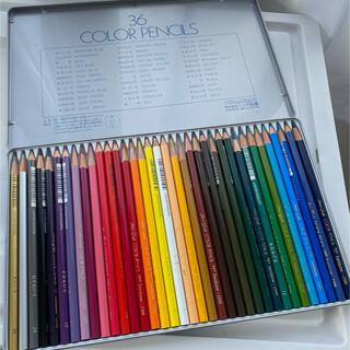 トンボエンピツ(トンボ鉛筆)の36色 色鉛筆(色鉛筆)