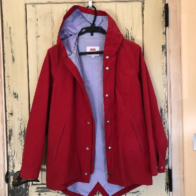 Supreme(シュプリーム)のSupreme 13SS Taped Seam Fishtail Parka  メンズのジャケット/アウター(ナイロンジャケット)の商品写真