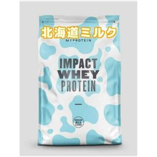 MYPROTEIN - 最後の1袋  マイプロテイン🐄北海道ミルク味 1kg ホエイプロテイン