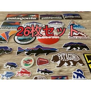 パタゴニア(patagonia)の【26枚セット】パタゴニア ステッカー シール ロンT ボアジャケット アウター(ステッカー)