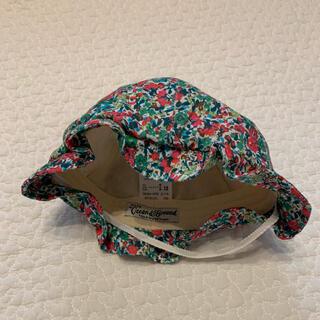 マーキーズ(MARKEY'S)のocean and ground 花柄帽子 44-46cm(帽子)