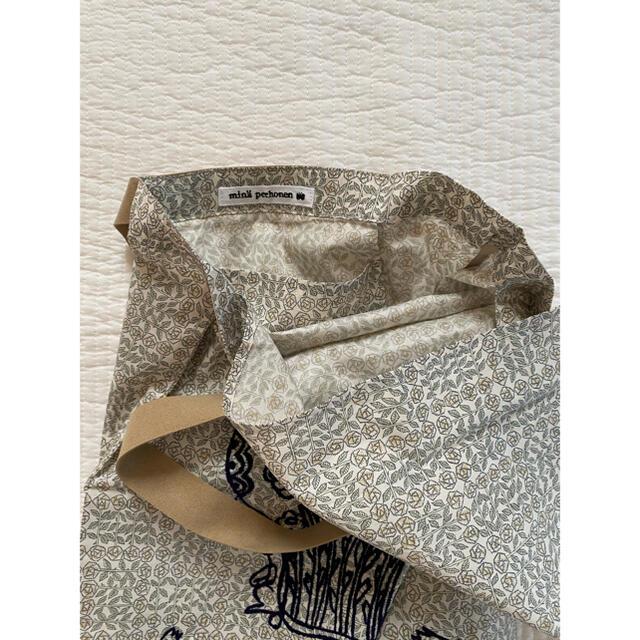 mina perhonen(ミナペルホネン)の非売品⭐︎ミナペルホネン ワンマイルバッグ ノベルティ トートバッグ レディースのバッグ(トートバッグ)の商品写真