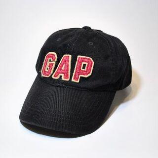 ギャップ(GAP)のGAP ギャップ ロゴ ブラック 黒 キャップ 帽子  G418(キャップ)