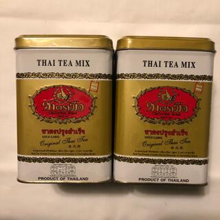 タイ チャトラムー ゴールド缶 2個セット(茶)