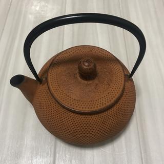 イッタラ(iittala)の岩鋳 南部鉄器カラーポット 急須(調理道具/製菓道具)