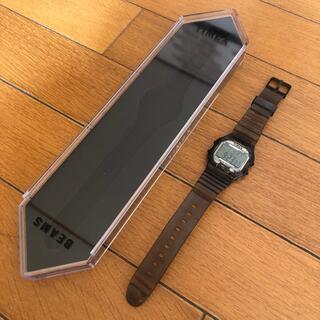 タイメックス(TIMEX)のTIMEX BEAMS 別注 ブラック スケルトン 腕時計(腕時計(デジタル))