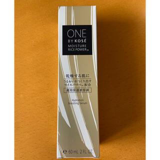 KOSE - 【新品】ONE BY KOSE 薬用保湿美容液 60ml