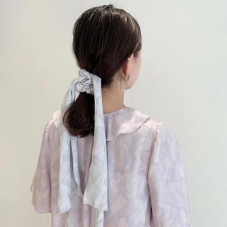 snidel - snidel home【SAKURA COLLECTION】サテンリボンシュシュ