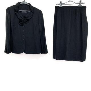 ジュンアシダ(jun ashida)のジュンアシダ サイズ13 L レディース - 黒(スーツ)
