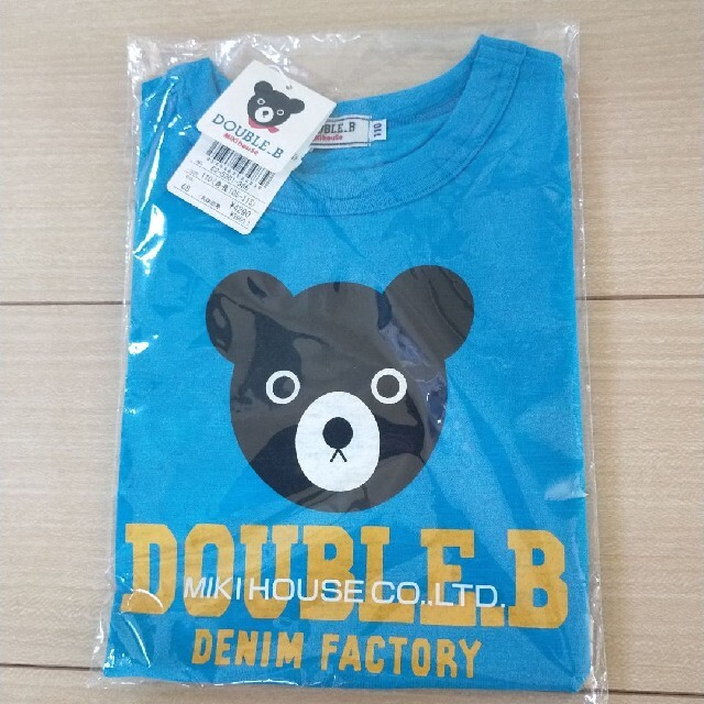 DOUBLE.B(ダブルビー)のミキハウス ダブルB 半袖Tシャツ 2点 キッズ/ベビー/マタニティのキッズ服男の子用(90cm~)(Tシャツ/カットソー)の商品写真