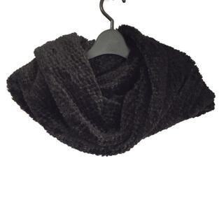 ダブルスタンダードクロージング(DOUBLE STANDARD CLOTHING)のダブルスタンダードクロージング F 黒(マフラー/ショール)