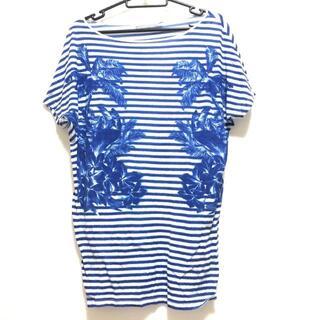 ステラマッカートニー(Stella McCartney)のステラマッカートニー サイズ38 L ボーダー(Tシャツ(半袖/袖なし))