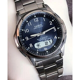 カシオ(CASIO)のカシオ 電波ソーラー 腕時計 ウェーブセプター(腕時計(アナログ))